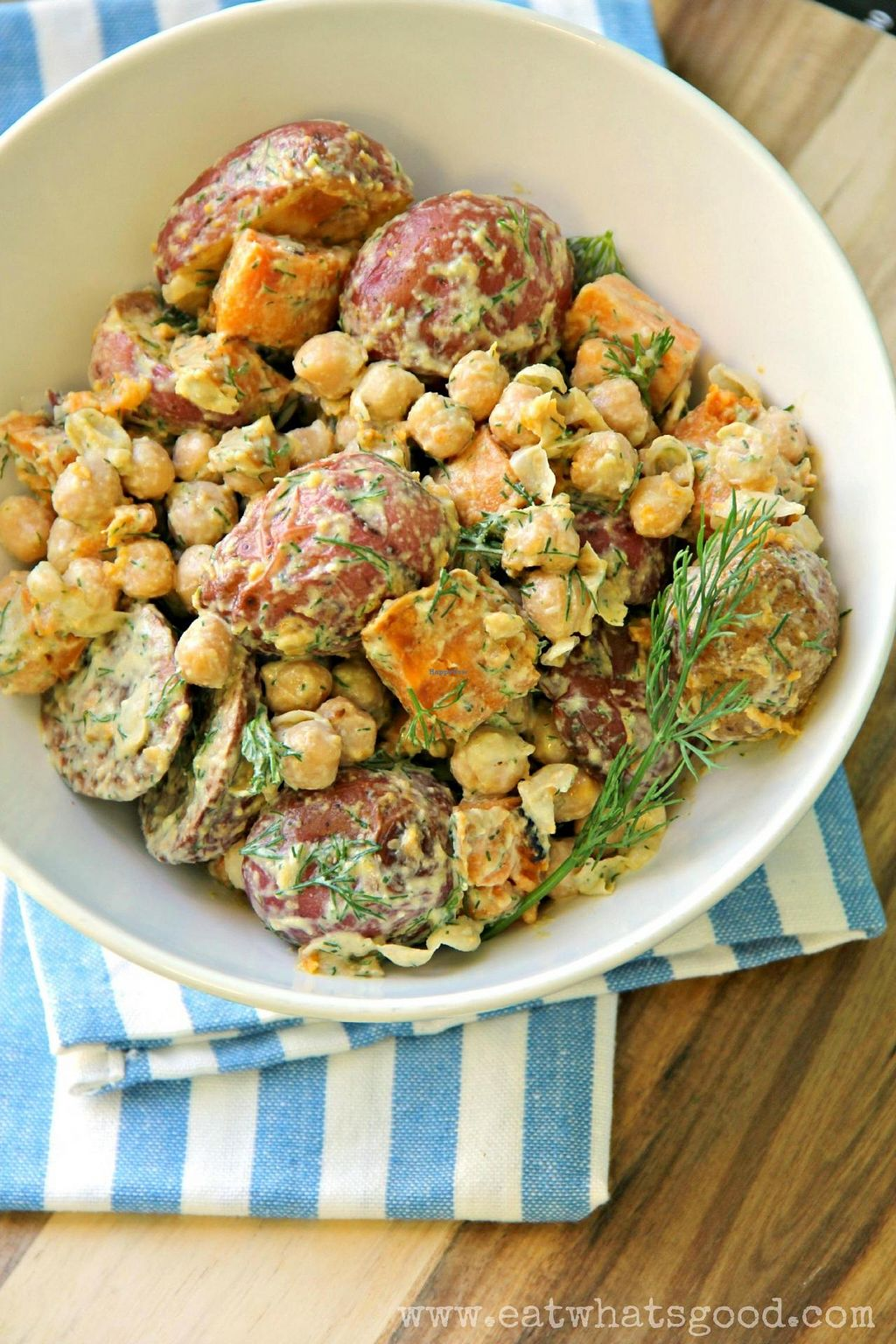 "Photo of Eat What's Good  by <a href=""/members/profile/Eat_Whats_Good"">Eat_Whats_Good</a> <br/>Dill Tahini Roasted Potato Salad <br/> July 15, 2014  - <a href='/contact/abuse/image/47686/74160'>Report</a>"