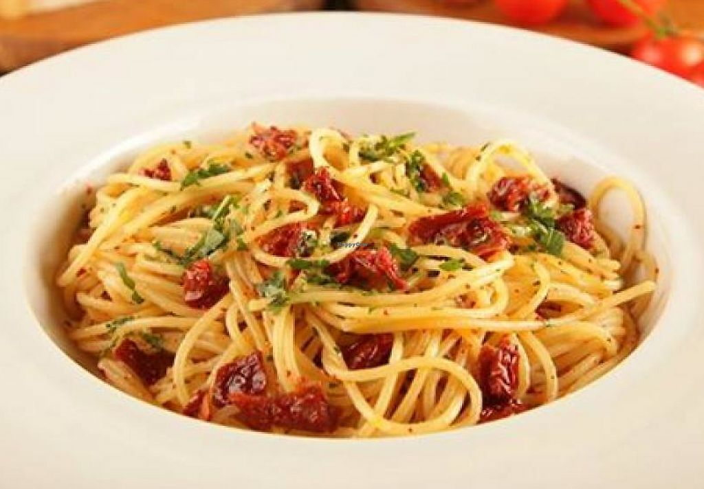 """Photo of Pizza Botako  by <a href=""""/members/profile/community"""">community</a> <br/>sun dried tomato pasta  <br/> September 28, 2014  - <a href='/contact/abuse/image/47695/243492'>Report</a>"""