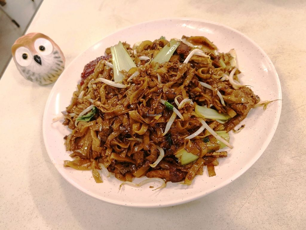 """Photo of Vegetarian Stall at Coffee Express 2000  by <a href=""""/members/profile/KuaMinChuen"""">KuaMinChuen</a> <br/>Black Kway Teow  <br/> April 11, 2018  - <a href='/contact/abuse/image/47699/383869'>Report</a>"""