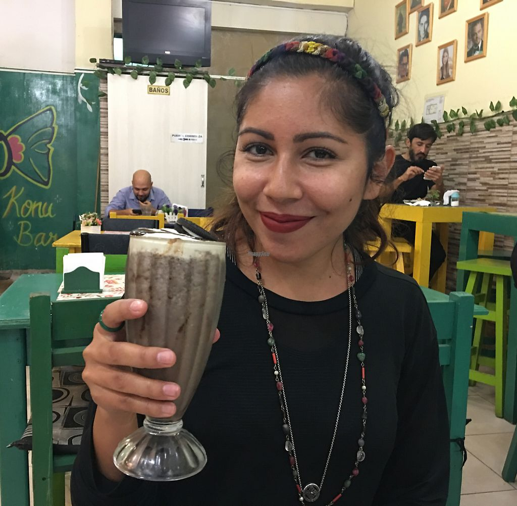 "Photo of Loving Hut  by <a href=""/members/profile/jasonxkeller"">jasonxkeller</a> <br/>Oreo shake and a beautiful vegan <br/> April 11, 2017  - <a href='/contact/abuse/image/47737/247141'>Report</a>"