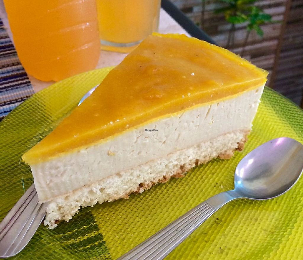 "Photo of Loving Hut  by <a href=""/members/profile/vegankevin_twitter"">vegankevin_twitter</a> <br/>Lemon cheesecake <br/> March 12, 2015  - <a href='/contact/abuse/image/47737/279305'>Report</a>"