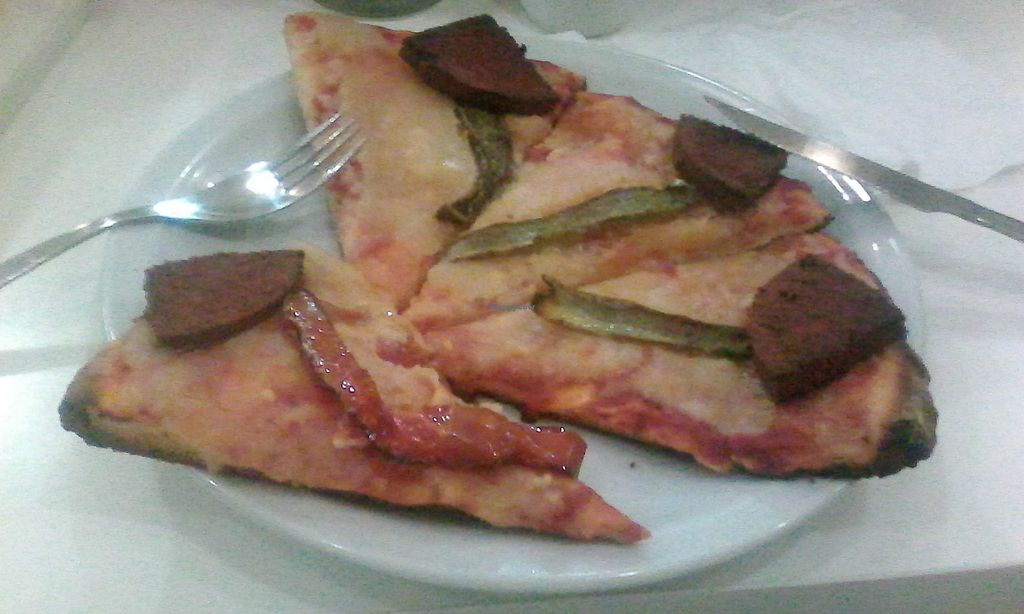 "Photo of Loving Hut  by <a href=""/members/profile/Den28"">Den28</a> <br/>Pizza con morrón y jamón <br/> February 24, 2018  - <a href='/contact/abuse/image/47737/363169'>Report</a>"