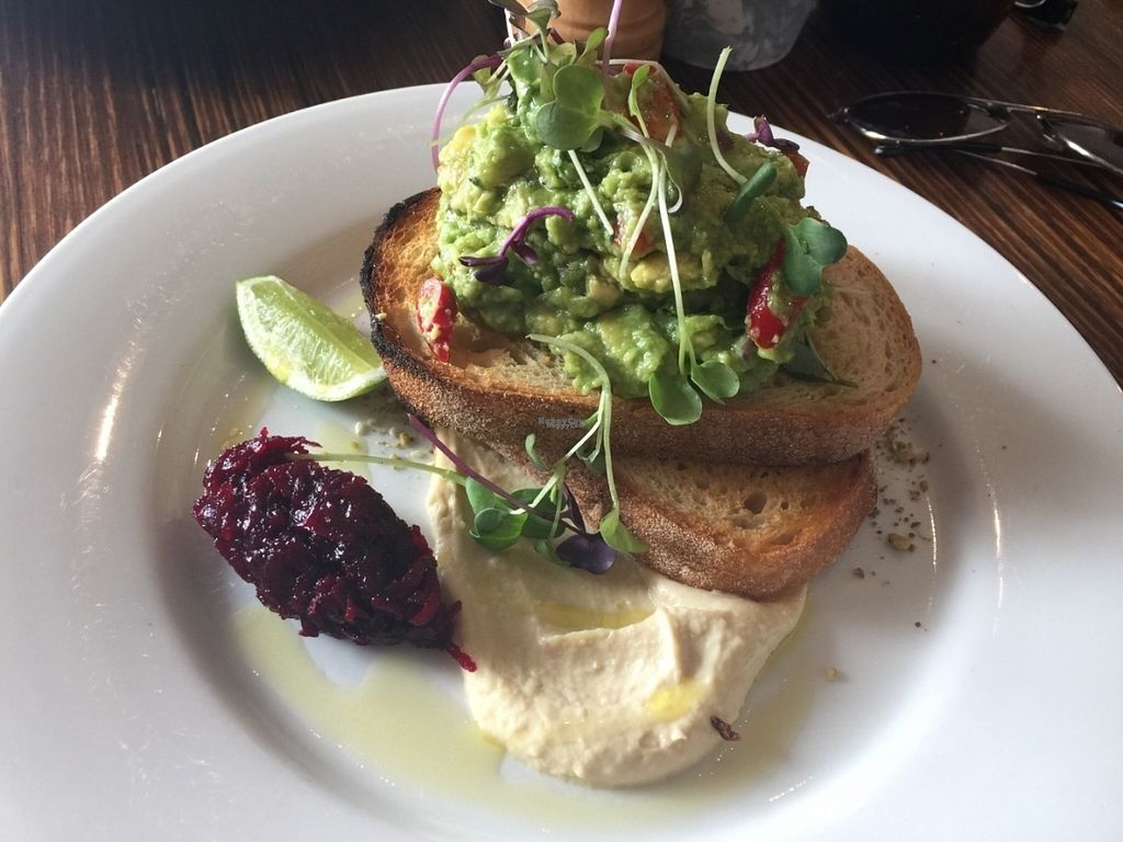 """Photo of Dad and Dave's Cafe  by <a href=""""/members/profile/Tiggy"""">Tiggy</a> <br/>Vegan smashed avocado - November 2016 <br/> November 5, 2016  - <a href='/contact/abuse/image/47747/186620'>Report</a>"""