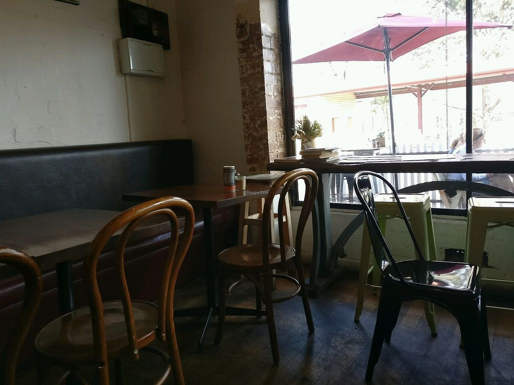 """Photo of Dad and Dave's Cafe  by <a href=""""/members/profile/Aloo"""">Aloo</a> <br/>people watching positions available <br/> March 16, 2018  - <a href='/contact/abuse/image/47747/371544'>Report</a>"""