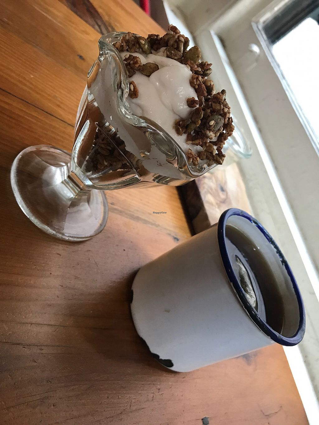 """Photo of P.S. and Co.  by <a href=""""/members/profile/urbinedwin"""">urbinedwin</a> <br/>coconut yogurt and orange blossom tea <br/> August 25, 2017  - <a href='/contact/abuse/image/47767/297052'>Report</a>"""