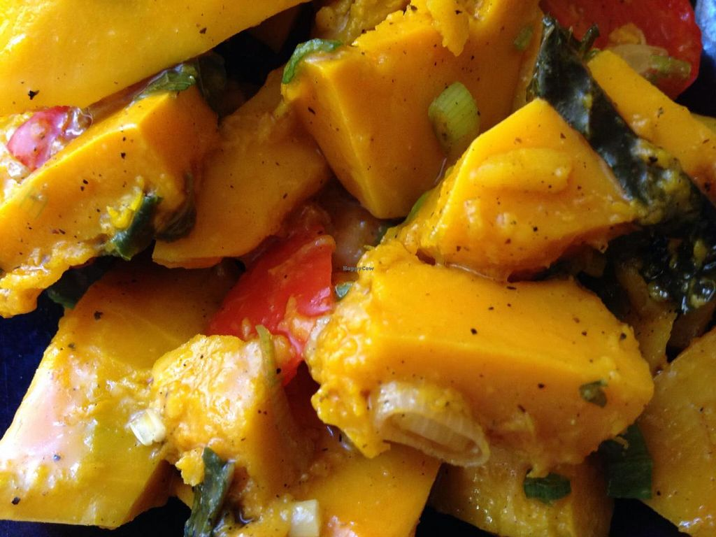 """Photo of Teaism  - Penn Quarter  by <a href=""""/members/profile/cookiem"""">cookiem</a> <br/>Kabocha salad <br/> June 2, 2014  - <a href='/contact/abuse/image/47784/71257'>Report</a>"""
