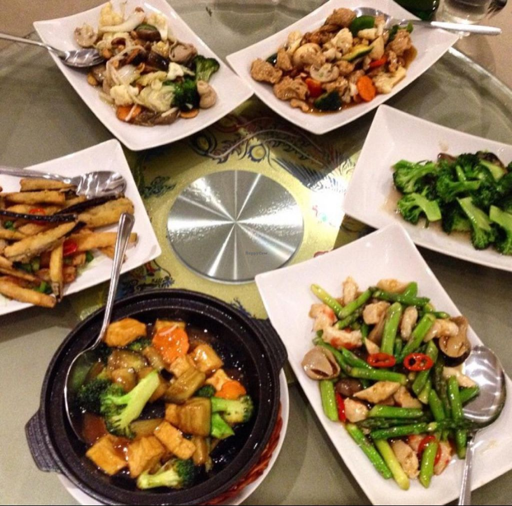 """Photo of Lotus Vegetarian Kitchen  by <a href=""""/members/profile/RubyFriel"""">RubyFriel</a> <br/>group dining <br/> March 8, 2015  - <a href='/contact/abuse/image/47789/95248'>Report</a>"""