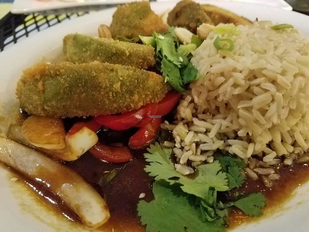 """Photo of The Local  by <a href=""""/members/profile/EverydayTastiness"""">EverydayTastiness</a> <br/>Kung Pao avocado  <br/> November 12, 2016  - <a href='/contact/abuse/image/47801/188777'>Report</a>"""