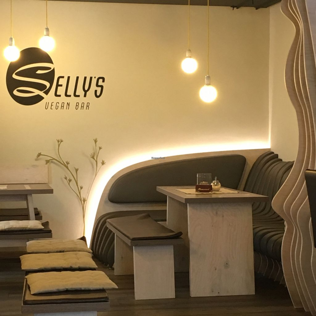 """Photo of CLOSED: Selly's Vegan Bar  by <a href=""""/members/profile/Ghiribizzo"""">Ghiribizzo</a> <br/>Selly's interior <br/> July 7, 2016  - <a href='/contact/abuse/image/47834/158296'>Report</a>"""