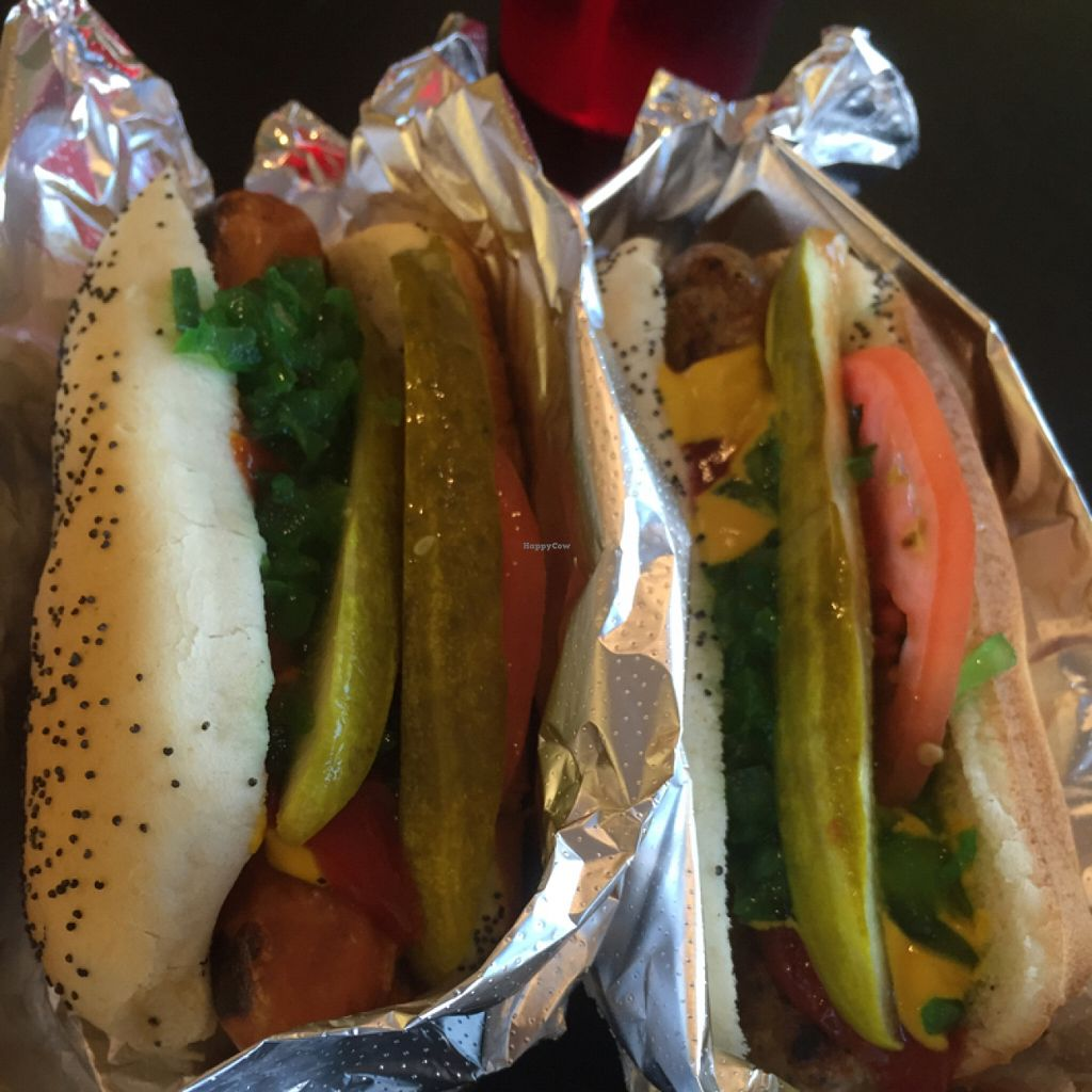 """Photo of Valpo Viennas  by <a href=""""/members/profile/happycowgirl"""">happycowgirl</a> <br/>veggie Italian sausage & veggie dogs <br/> July 17, 2016  - <a href='/contact/abuse/image/47867/160337'>Report</a>"""