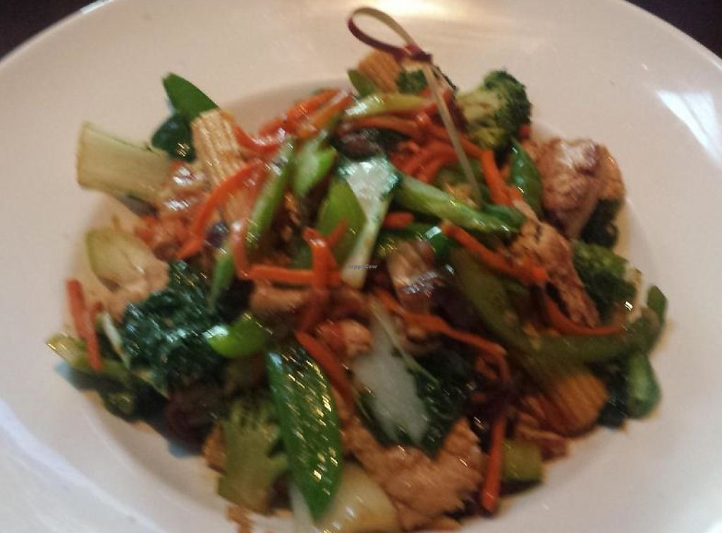 """Photo of Yard House  by <a href=""""/members/profile/nstrawbr"""">nstrawbr</a> <br/>Gardein Chicken Rice Bowl <br/> June 6, 2014  - <a href='/contact/abuse/image/47870/196712'>Report</a>"""
