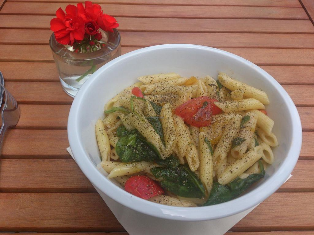 """Photo of ISS GUT  by <a href=""""/members/profile/Tank242"""">Tank242</a> <br/>Great vegan pasta with baby spinach <br/> July 11, 2014  - <a href='/contact/abuse/image/47884/73749'>Report</a>"""