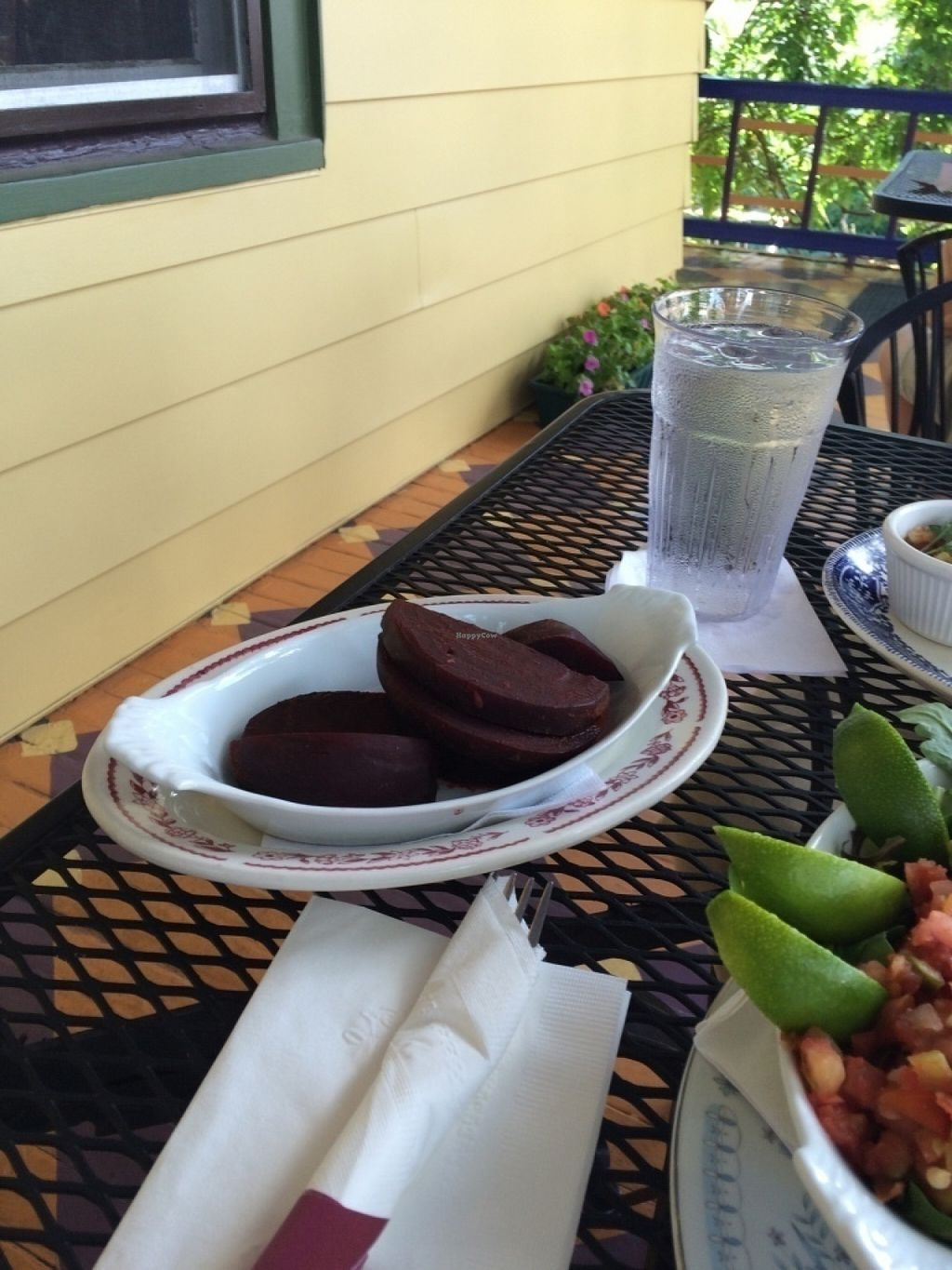 """Photo of Bellefonte Cafe  by <a href=""""/members/profile/VeganVegabond"""">VeganVegabond</a> <br/>Side of """"curried"""" beats <br/> July 21, 2016  - <a href='/contact/abuse/image/47895/161471'>Report</a>"""
