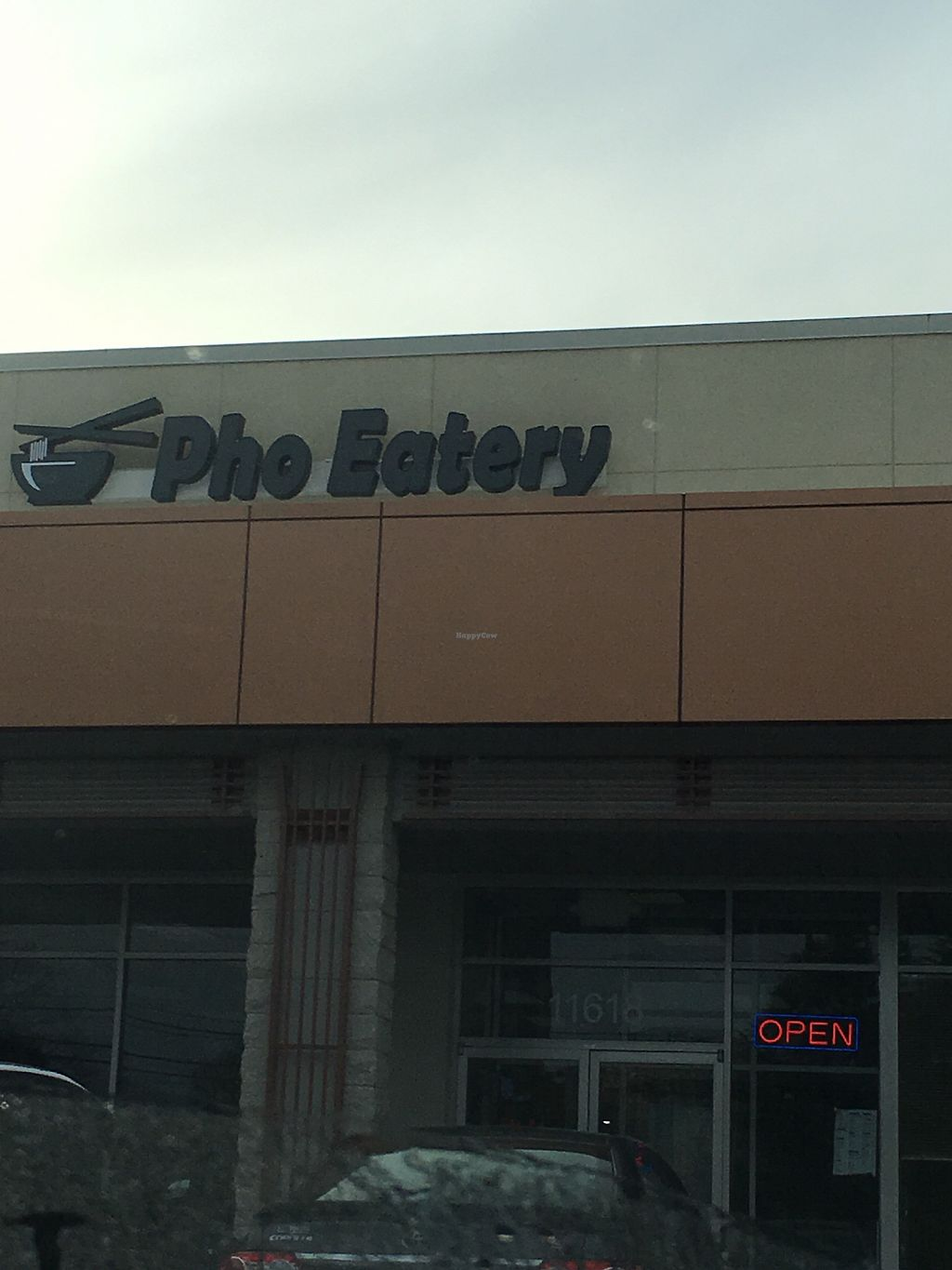"""Photo of Pho Eatery  by <a href=""""/members/profile/nardanddee"""">nardanddee</a> <br/>Exterior <br/> January 17, 2018  - <a href='/contact/abuse/image/47905/347746'>Report</a>"""