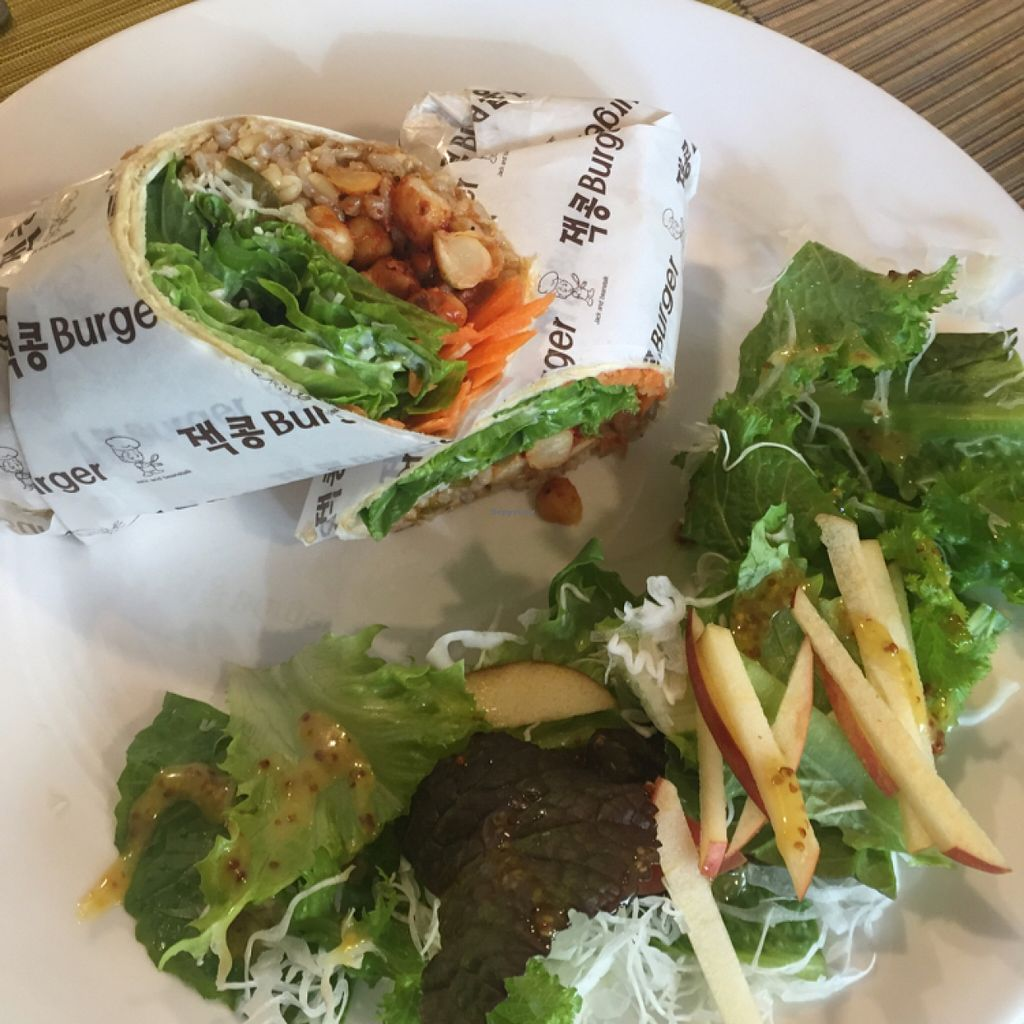 """Photo of Jack and the Beanstalk  by <a href=""""/members/profile/annamannamomanna"""">annamannamomanna</a> <br/>amazing burrito! <br/> February 15, 2016  - <a href='/contact/abuse/image/47910/136378'>Report</a>"""
