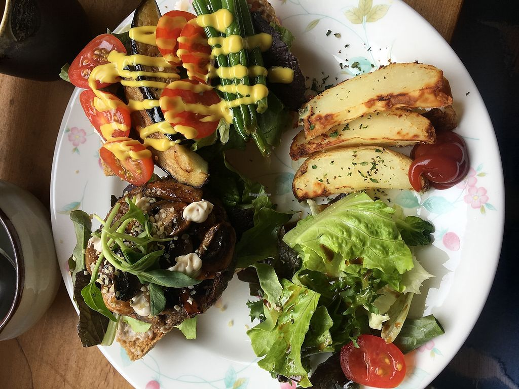 """Photo of Jack and the Beanstalk  by <a href=""""/members/profile/Melanie1809"""">Melanie1809</a> <br/>Grain ciabatta burger <br/> November 14, 2017  - <a href='/contact/abuse/image/47910/325470'>Report</a>"""