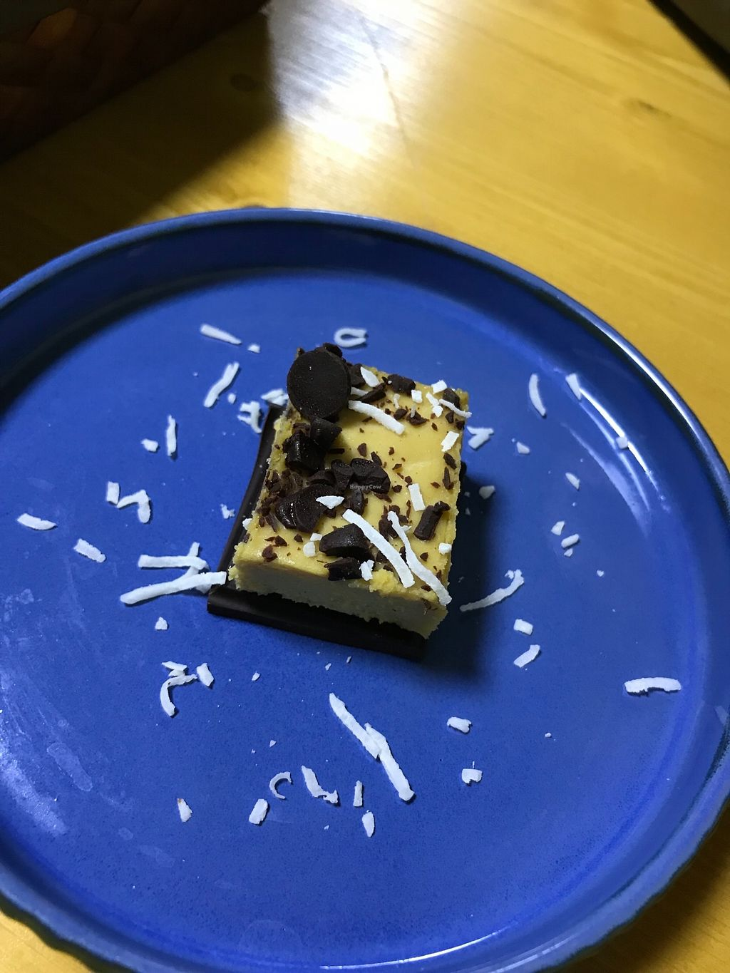 """Photo of Jack and the Beanstalk  by <a href=""""/members/profile/happyeats"""">happyeats</a> <br/>Cashew cake w/ dark chocolate!  <br/> January 22, 2018  - <a href='/contact/abuse/image/47910/349749'>Report</a>"""