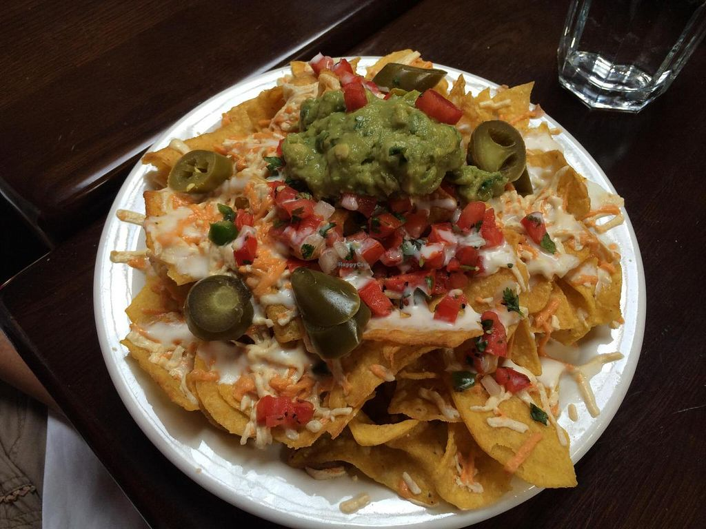"Photo of El Borracho - Ballard  by <a href=""/members/profile/axis777"">axis777</a> <br/>The fantastic vegan nachos at El Borracho! <br/> August 27, 2014  - <a href='/contact/abuse/image/47925/78381'>Report</a>"