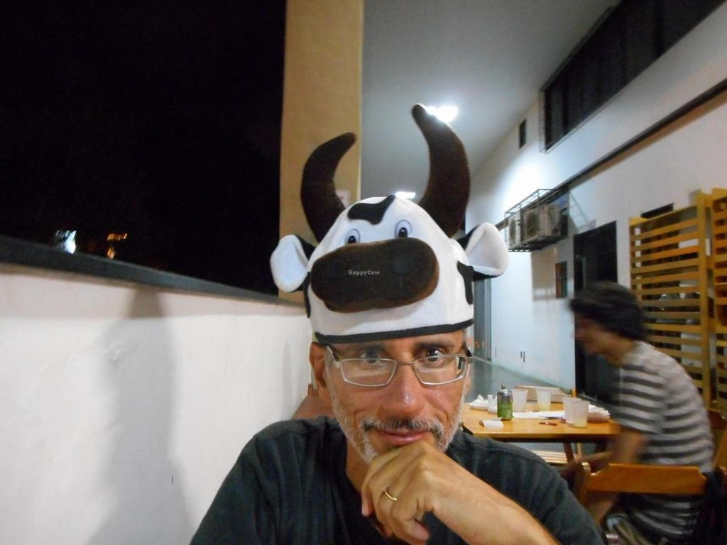 """Photo of Faz Bem Casa Vegana  by <a href=""""/members/profile/katgar33"""">katgar33</a> <br/>My friends are always in my head but sometimes on my head too! <br/> September 14, 2014  - <a href='/contact/abuse/image/47929/79952'>Report</a>"""