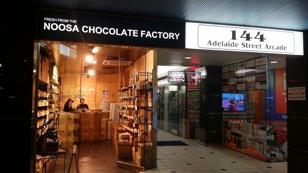 """Photo of Noosa Chocolate Factory  by <a href=""""/members/profile/Mike%20Munsie"""">Mike Munsie</a> <br/>2nd outlet 144 Adelaide St <br/> May 12, 2017  - <a href='/contact/abuse/image/47940/258067'>Report</a>"""