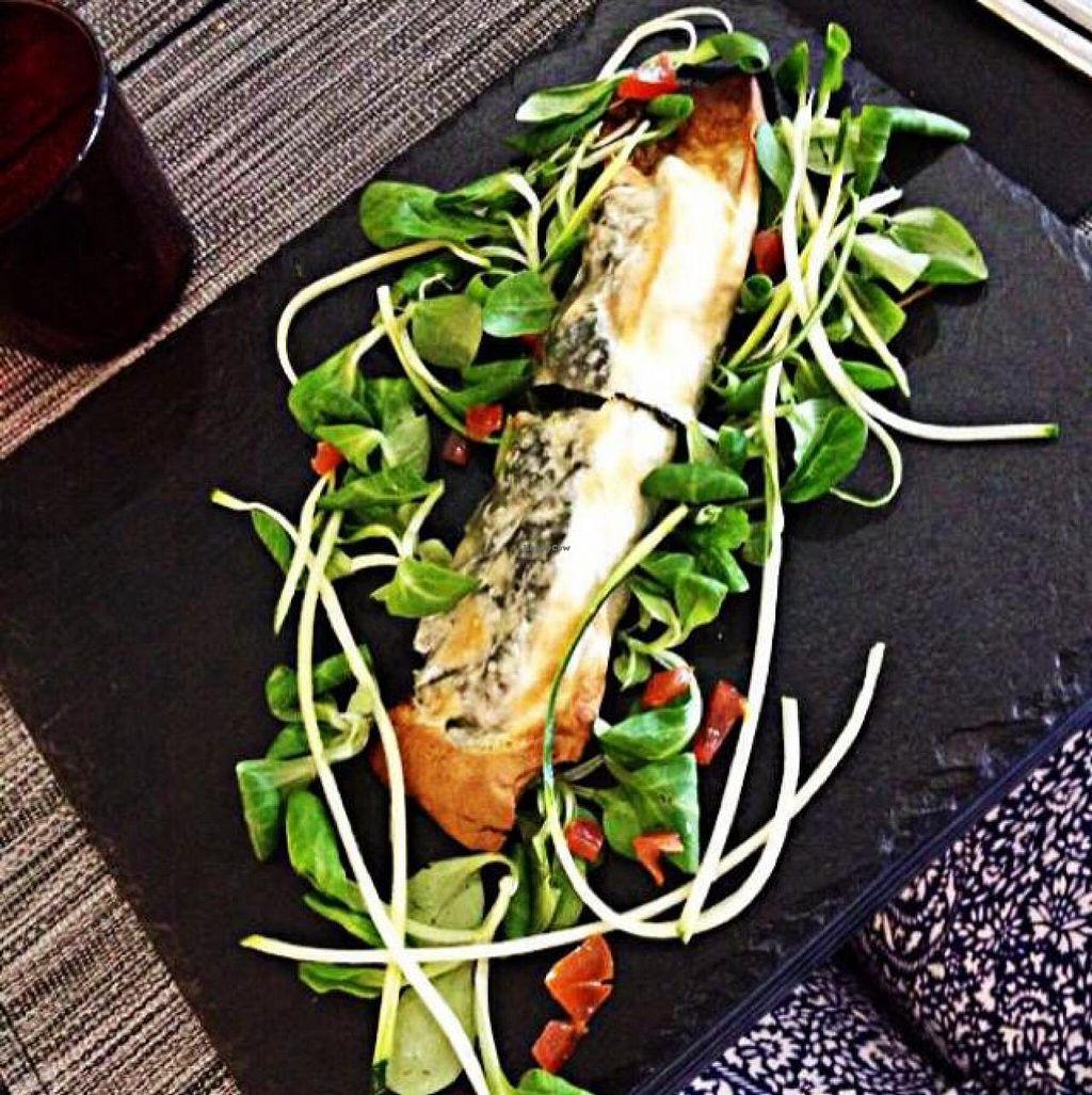"""Photo of Gastronomia Le Quattro Stagioni  by <a href=""""/members/profile/LauraRita"""">LauraRita</a> <br/>vegan spinach strüdel  <br/> June 26, 2014  - <a href='/contact/abuse/image/47957/72817'>Report</a>"""