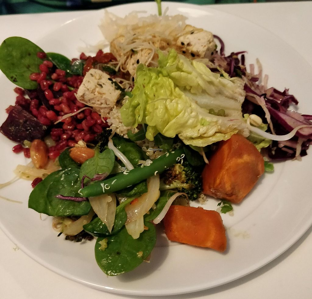 """Photo of OmNam  by <a href=""""/members/profile/Sakuru"""">Sakuru</a> <br/>A plate from the salad buffet <br/> February 19, 2018  - <a href='/contact/abuse/image/47960/361291'>Report</a>"""