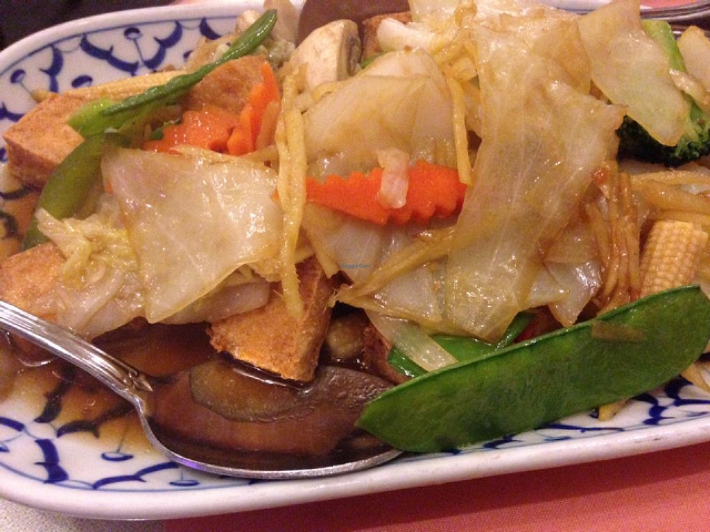 """Photo of Thai Taste  by <a href=""""/members/profile/calamaestra"""">calamaestra</a> <br/>ginger tofu <br/> December 27, 2015  - <a href='/contact/abuse/image/47962/130037'>Report</a>"""