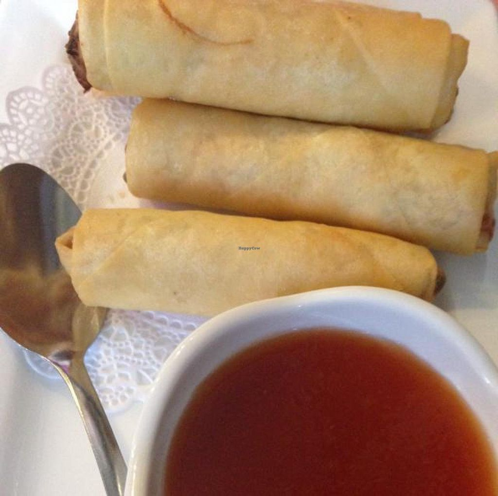 """Photo of Thai Taste  by <a href=""""/members/profile/calamaestra"""">calamaestra</a> <br/>spring rolls  <br/> June 9, 2014  - <a href='/contact/abuse/image/47962/71703'>Report</a>"""