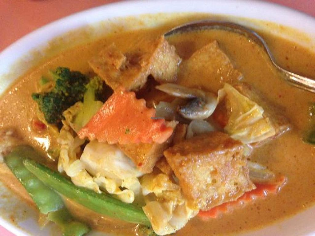 """Photo of Thai Taste  by <a href=""""/members/profile/calamaestra"""">calamaestra</a> <br/>yellow curry <br/> June 9, 2014  - <a href='/contact/abuse/image/47962/71704'>Report</a>"""