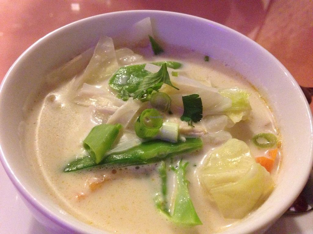 """Photo of Thai Taste  by <a href=""""/members/profile/calamaestra"""">calamaestra</a> <br/>Coconut soup <br/> March 23, 2015  - <a href='/contact/abuse/image/47962/96779'>Report</a>"""