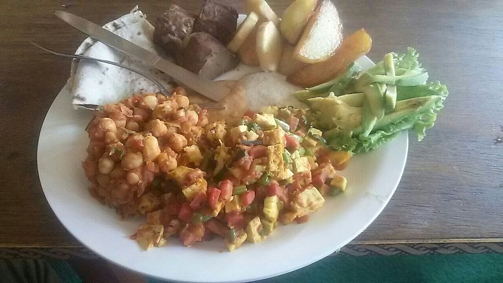 """Photo of Pumpernicle German Bakery  by <a href=""""/members/profile/Nia"""">Nia</a> <br/>healthy vegan dinner nam nam! <br/> March 26, 2017  - <a href='/contact/abuse/image/47984/241428'>Report</a>"""