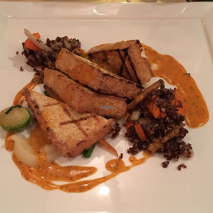 """Photo of Cedar Restaurant  by <a href=""""/members/profile/AimeeS"""">AimeeS</a> <br/>Grilled tofu <br/> October 29, 2016  - <a href='/contact/abuse/image/47991/185045'>Report</a>"""