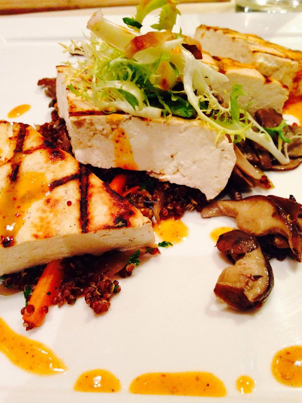 """Photo of Cedar Restaurant  by <a href=""""/members/profile/cookiem"""">cookiem</a> <br/>Grilled tofu marinated in citrus mustard <br/> April 8, 2015  - <a href='/contact/abuse/image/47991/98349'>Report</a>"""