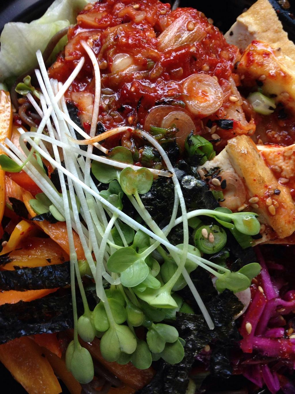 """Photo of Seoul Food DC  by <a href=""""/members/profile/cookiem"""">cookiem</a> <br/>Summer bibimbap <br/> June 13, 2014  - <a href='/contact/abuse/image/47992/71975'>Report</a>"""