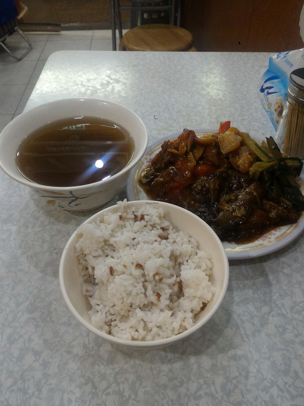 """Photo of Kam Heung Vegetarian - Fortress Hill  by <a href=""""/members/profile/ouikouik"""">ouikouik</a> <br/>hkd38 dinner <br/> October 12, 2015  - <a href='/contact/abuse/image/48002/121094'>Report</a>"""