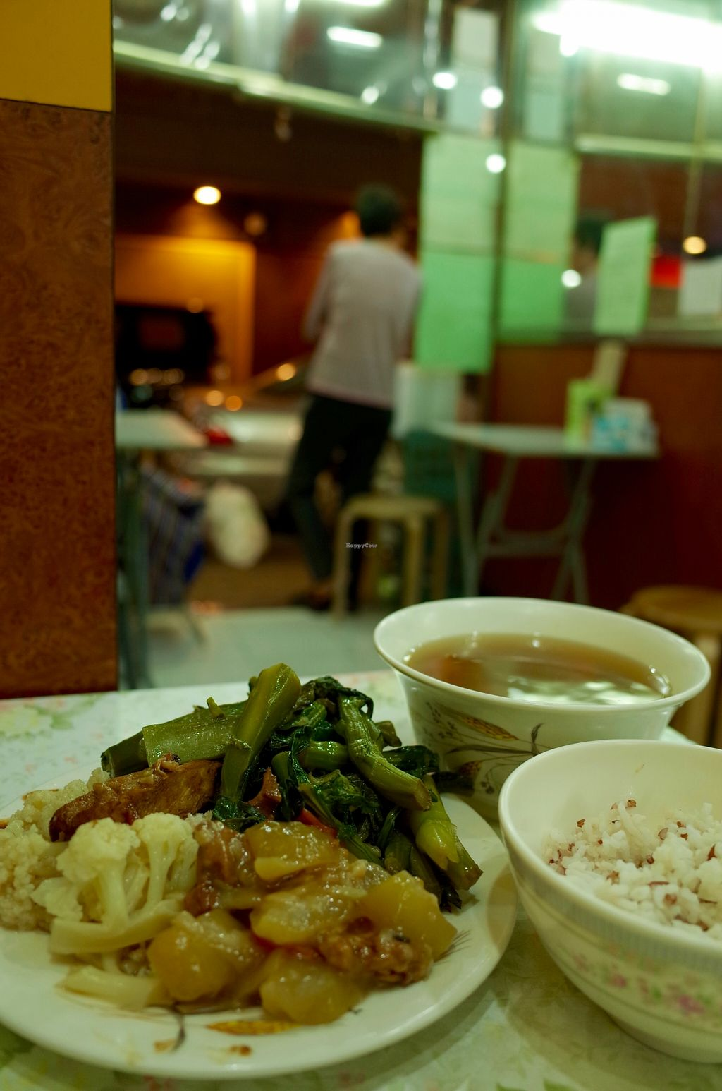 """Photo of Kam Heung Vegetarian - Fortress Hill  by <a href=""""/members/profile/ouikouik"""">ouikouik</a> <br/>dinner <br/> October 31, 2015  - <a href='/contact/abuse/image/48002/123340'>Report</a>"""