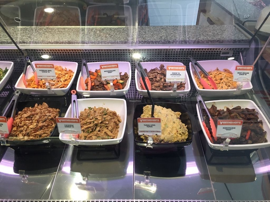 """Photo of Yam Chops  by <a href=""""/members/profile/StevieSurf"""">StevieSurf</a> <br/>Salad bar <br/> July 12, 2016  - <a href='/contact/abuse/image/48004/159313'>Report</a>"""