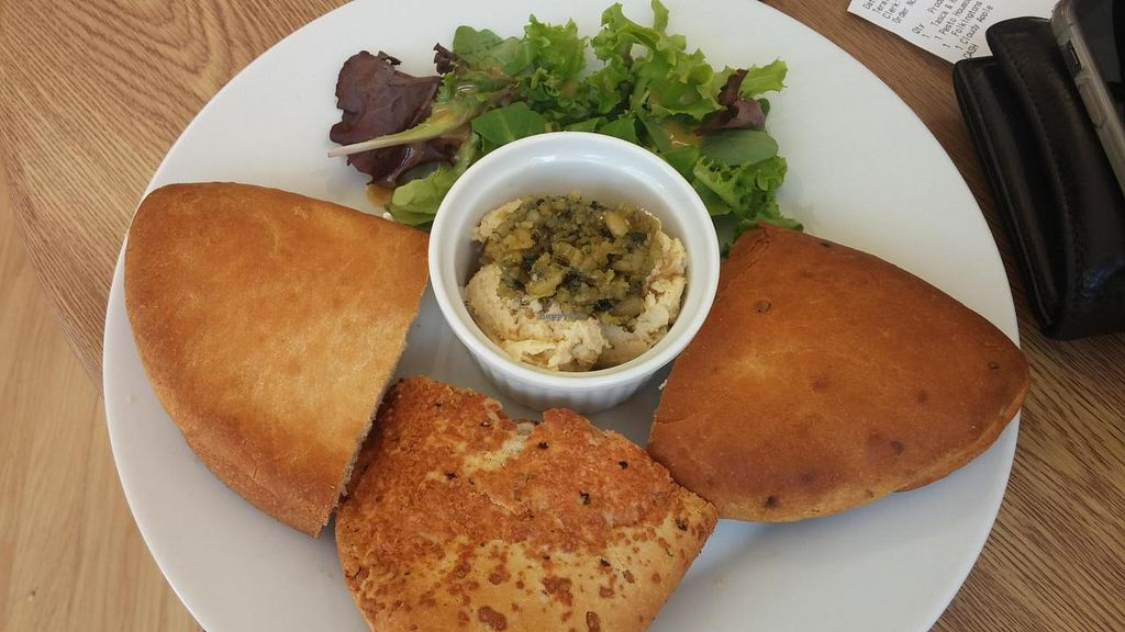 "Photo of CLOSED: Daisy Moo's Bakehouse  by <a href=""/members/profile/interacter"">interacter</a> <br/>Homemade hummus served with hot, just toasted, tascas.  Delicious! <br/> August 9, 2014  - <a href='/contact/abuse/image/48023/76374'>Report</a>"