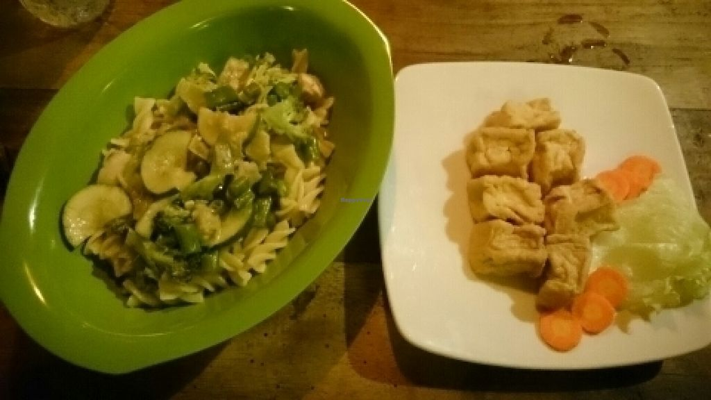 """Photo of Hanny Green Rumah Herbal and Healthy Cafe  by <a href=""""/members/profile/AprilRiglar"""">AprilRiglar</a> <br/>Delicious creamy vegan pasta and tofu <br/> July 12, 2016  - <a href='/contact/abuse/image/48028/159389'>Report</a>"""
