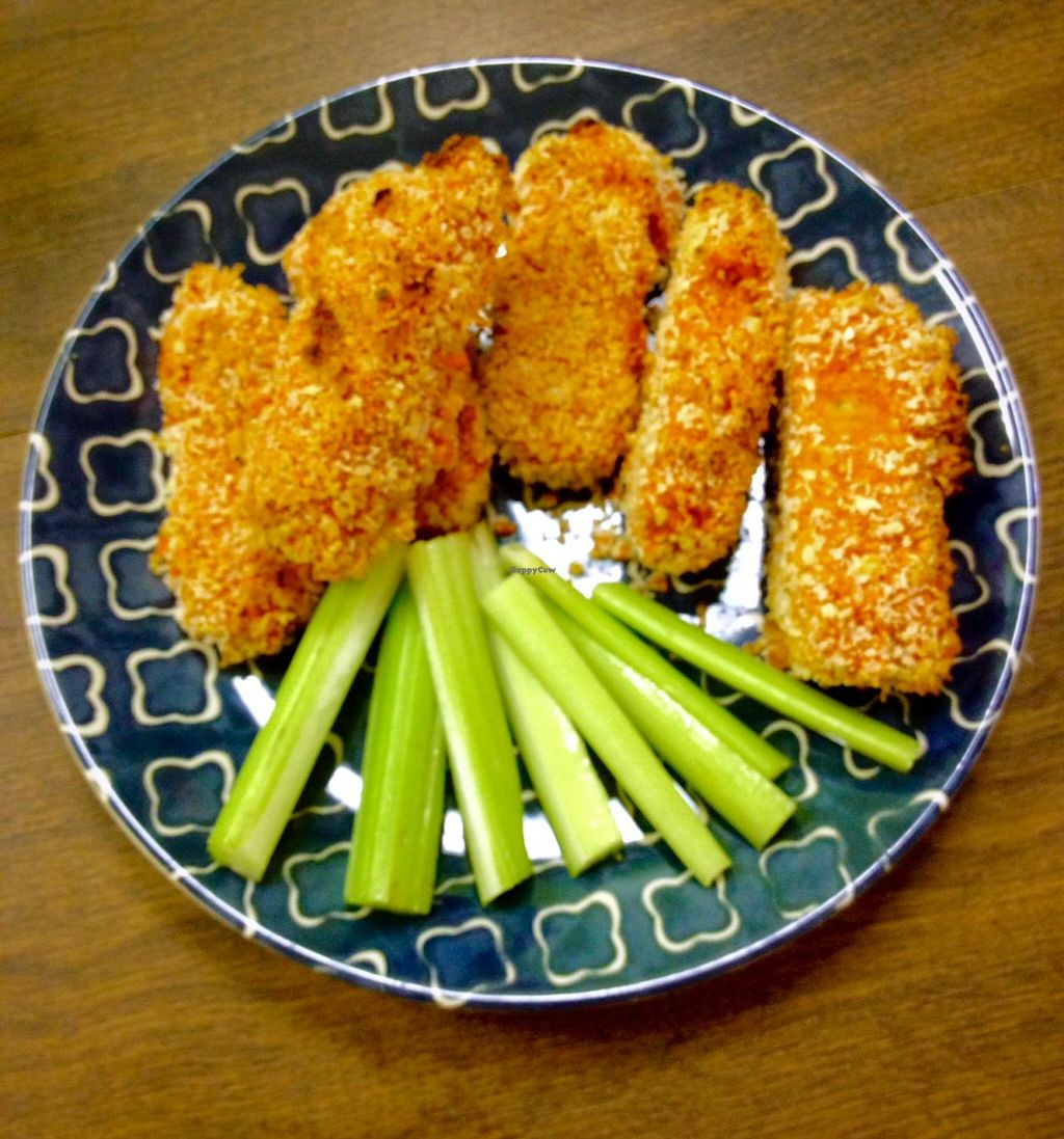 """Photo of CLOSED: Chickpea  by <a href=""""/members/profile/Jeopardy"""">Jeopardy</a> <br/>Buffalo Tempeh Tenders  <br/> July 10, 2015  - <a href='/contact/abuse/image/48035/108838'>Report</a>"""