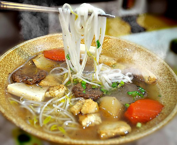 """Photo of Loving Hut - Dunhua North Rd  by <a href=""""/members/profile/TacoChang"""">TacoChang</a> <br/>vegan Pho <br/> November 8, 2017  - <a href='/contact/abuse/image/48040/323225'>Report</a>"""
