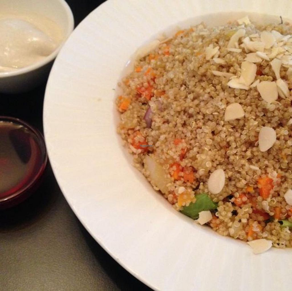 "Photo of CLOSED: Cafe Nini  by <a href=""/members/profile/Brok%20O.%20Lee"">Brok O. Lee</a> <br/>Vegan Quinoa Salad with Tahini and Date Honey <br/> June 18, 2014  - <a href='/contact/abuse/image/48042/72223'>Report</a>"