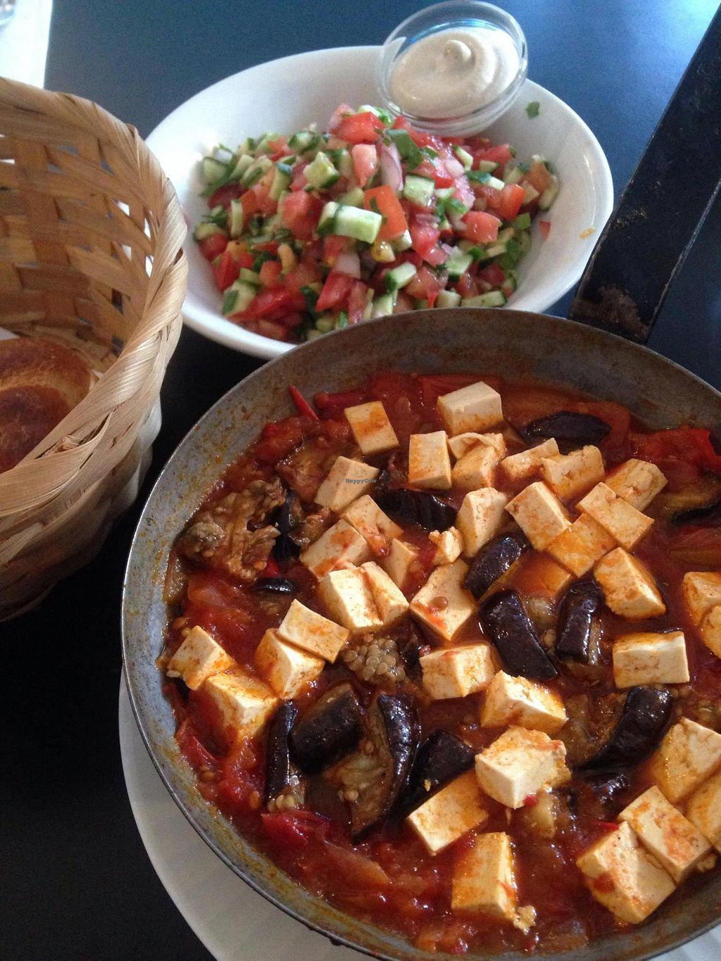 "Photo of CLOSED: Cafe Nini  by <a href=""/members/profile/Brok%20O.%20Lee"">Brok O. Lee</a> <br/>Vegan tofu and eggplant shakshouka <br/> November 1, 2014  - <a href='/contact/abuse/image/48042/84325'>Report</a>"