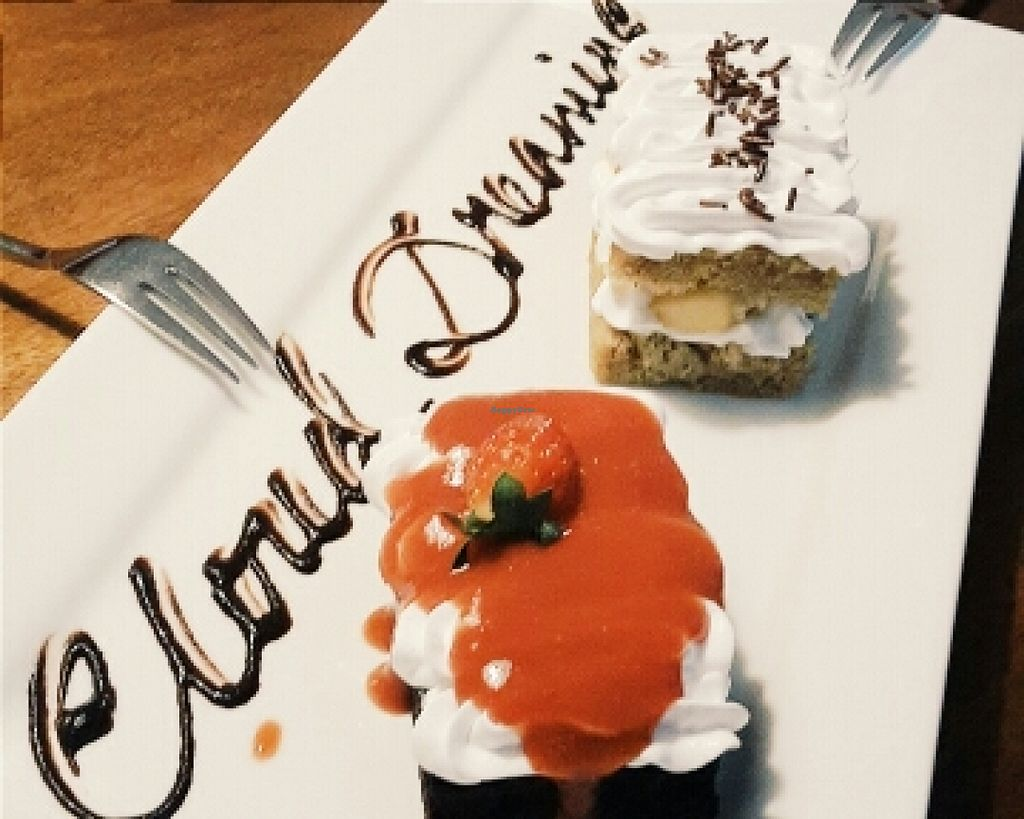 """Photo of Cloud Dreaming  by <a href=""""/members/profile/sarararah"""">sarararah</a> <br/>chocolate strawberry cake and apple vanilla cake <br/> March 3, 2016  - <a href='/contact/abuse/image/48096/138678'>Report</a>"""