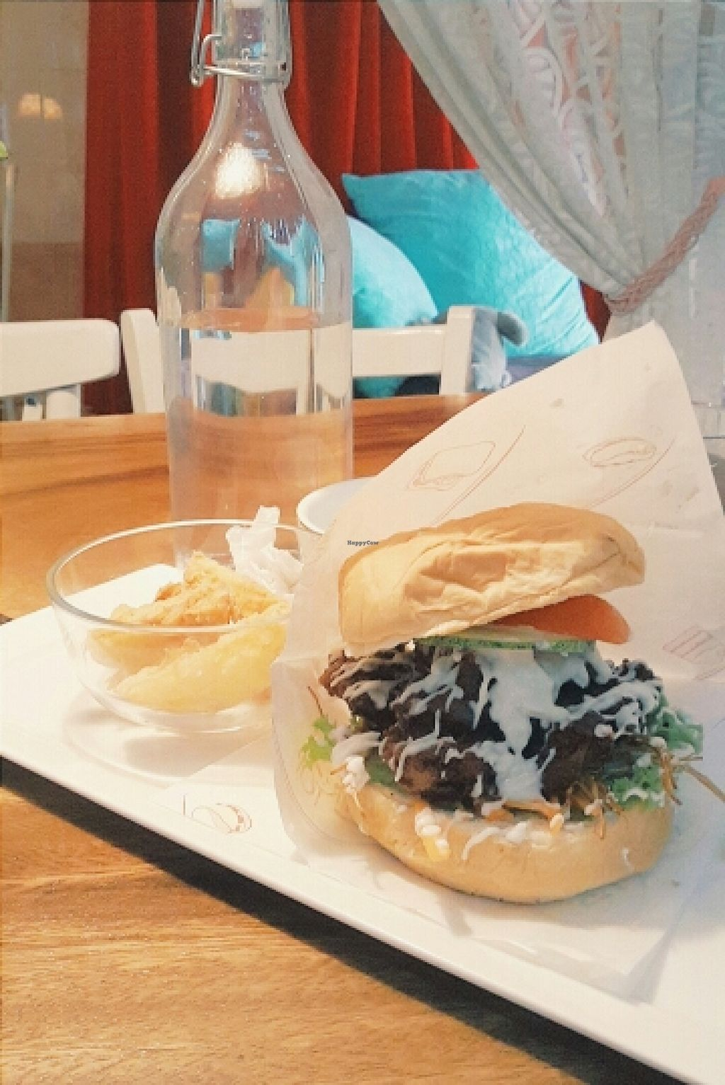 """Photo of Cloud Dreaming  by <a href=""""/members/profile/sarararah"""">sarararah</a> <br/>tofu burger and fries <br/> March 3, 2016  - <a href='/contact/abuse/image/48096/138680'>Report</a>"""