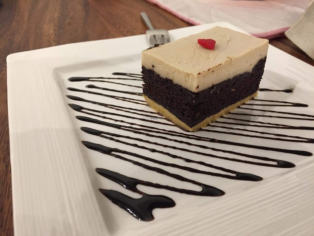 """Photo of Cloud Dreaming  by <a href=""""/members/profile/Mustarda"""">Mustarda</a> <br/>Vegan choco cheesecake <br/> March 21, 2018  - <a href='/contact/abuse/image/48096/373529'>Report</a>"""