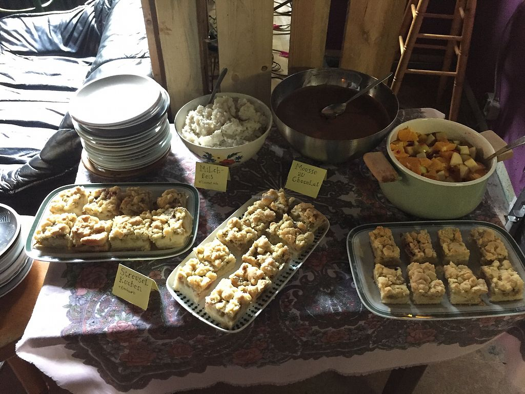 """Photo of B-Lage  by <a href=""""/members/profile/barnane"""">barnane</a> <br/>Desserts at the brunch <br/> October 12, 2017  - <a href='/contact/abuse/image/48098/314675'>Report</a>"""