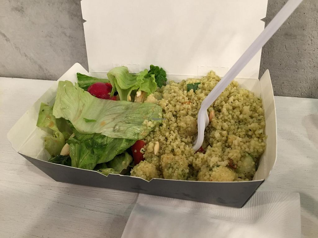 "Photo of Tallore Soups  by <a href=""/members/profile/CharlesS"">CharlesS</a> <br/>Artichoke Salad/Cous Coous Vegetable Salad (Split) <br/> October 13, 2014  - <a href='/contact/abuse/image/48107/82799'>Report</a>"