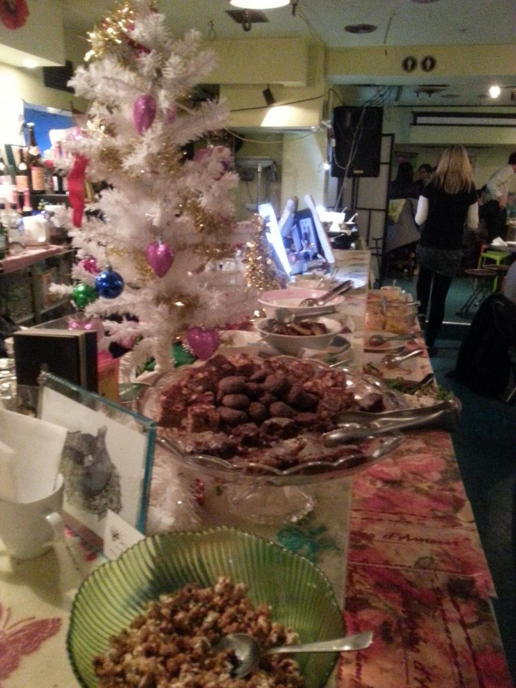 """Photo of The Pink Cow  by <a href=""""/members/profile/frbou"""">frbou</a> <br/>Christmas buffet ! <br/> January 29, 2015  - <a href='/contact/abuse/image/48139/91631'>Report</a>"""