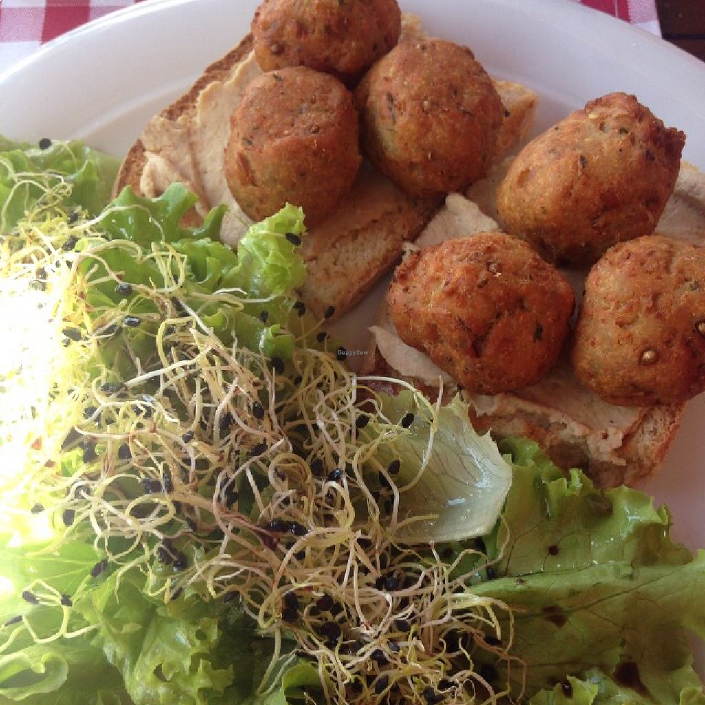 """Photo of Kod Damira  by <a href=""""/members/profile/lain420"""">lain420</a> <br/>falafel without yoghurt dressing <br/> August 24, 2015  - <a href='/contact/abuse/image/48141/114964'>Report</a>"""